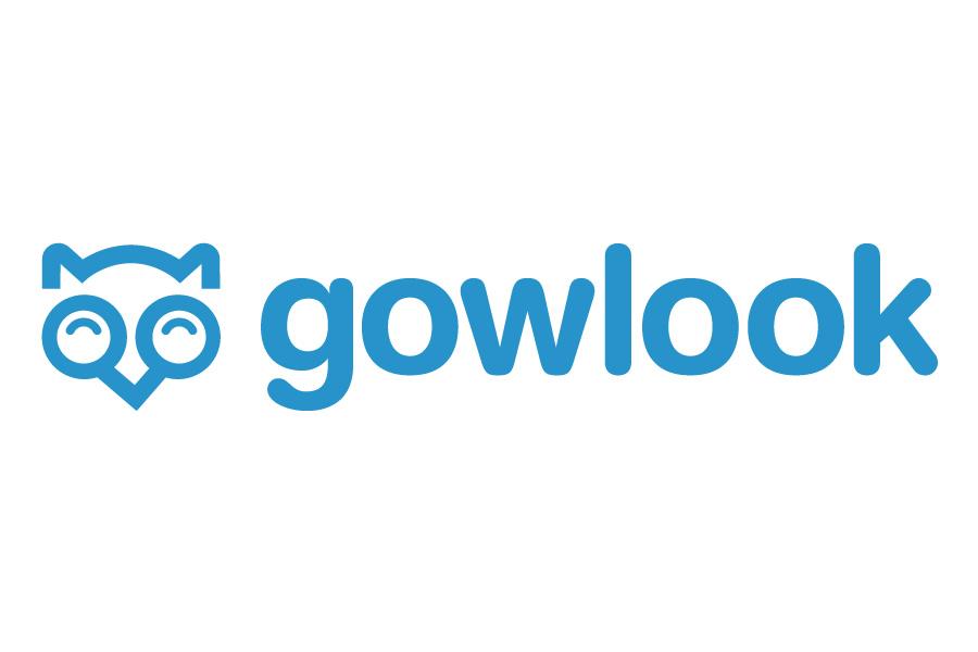 Gowlook - Logotipo para el comparador de precios Gowlook.com