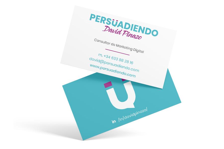 Persuadiendo - Diseño gráfico para freelance de marketing