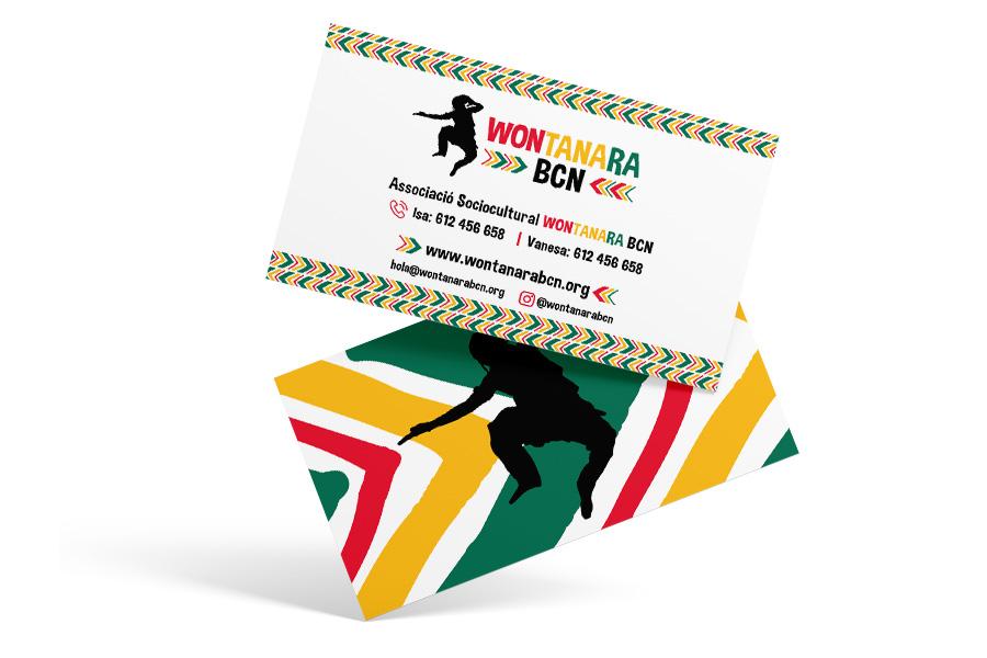 Wontanara Bcn - Diseño gráfico para ONG