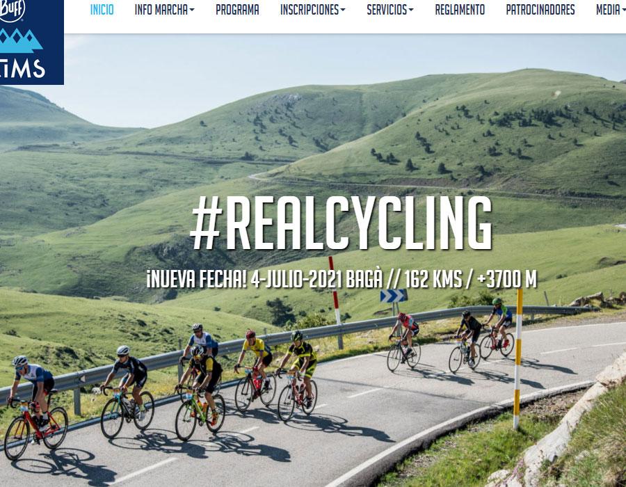 4cims - Diseño web para marcha cicloturista