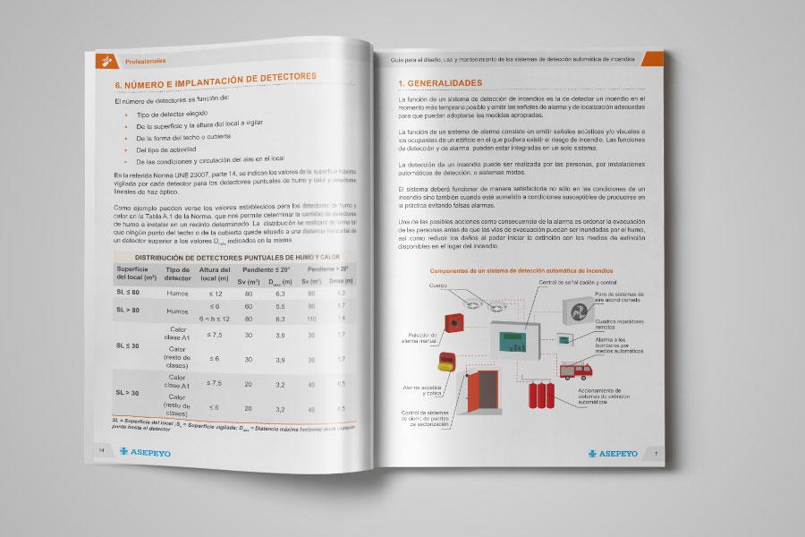 Asepeyo - Diseño gráfico para mutua médica