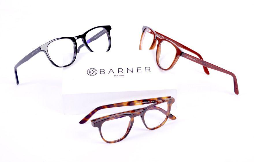Barner - Diseño gráfico para marca de gafas