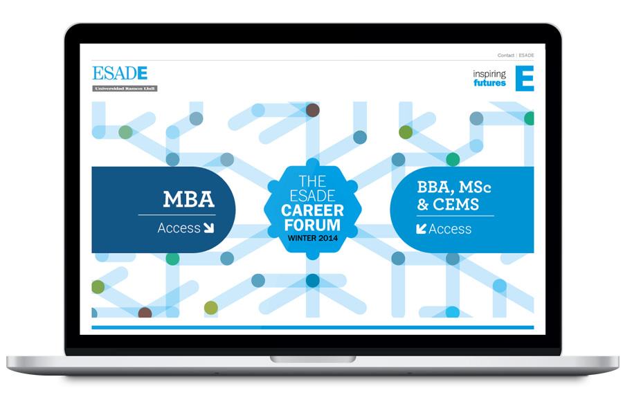 ESADE - Diseño web para escuela de negocios