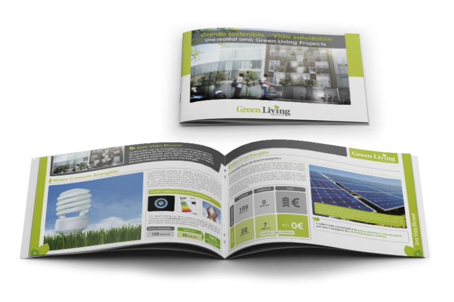 Green Living Projects - Diseño gráfico para consultora
