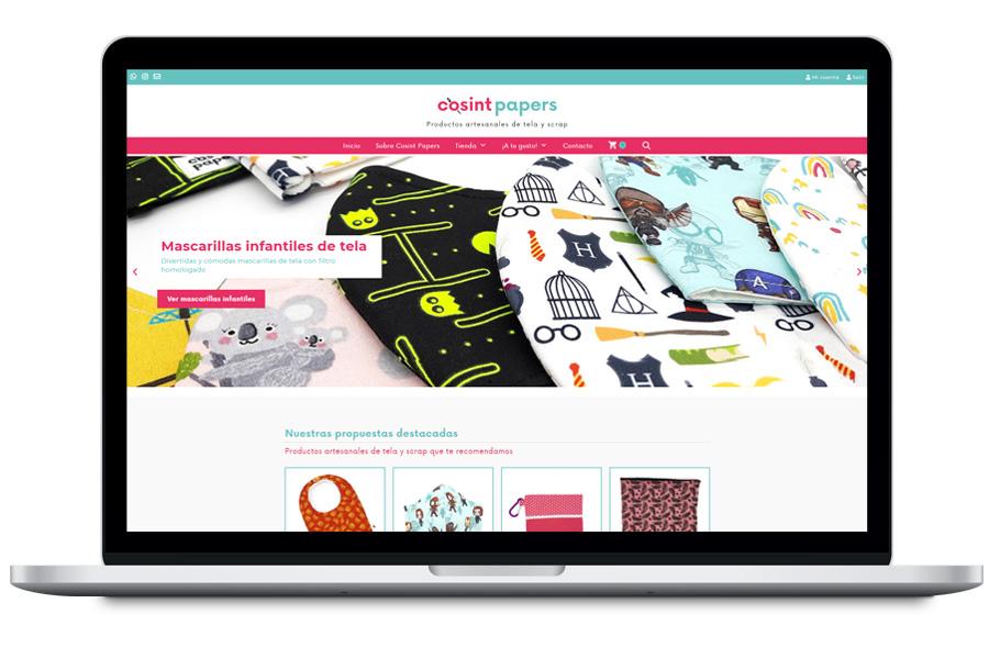 Diseño tienda online woocommerce para tienda de productos artesanales