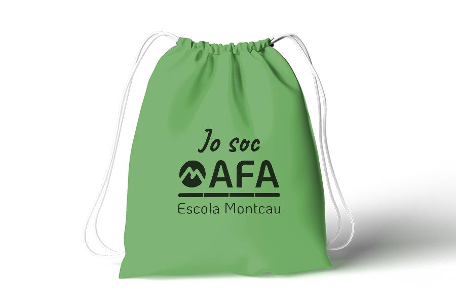 AFA Escola Montcau - Diseño para una asociación