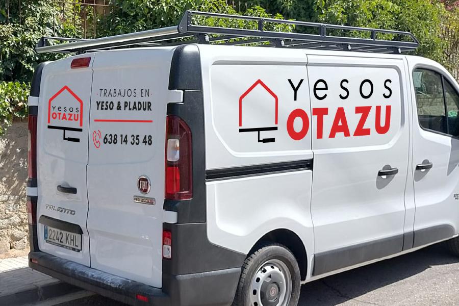 Yesos Otazu - Logotipo para yesero