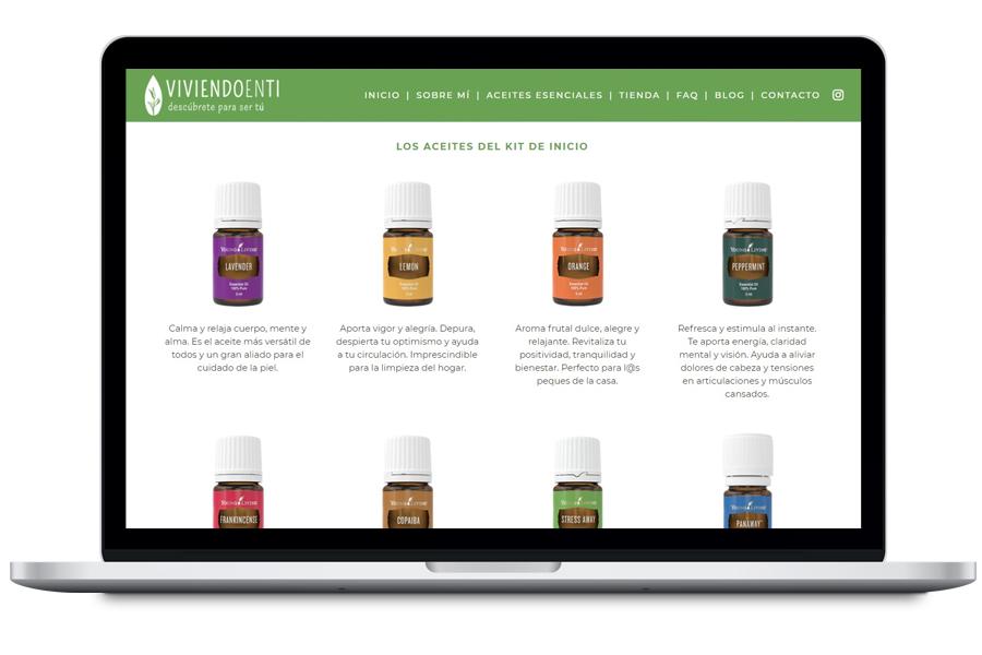 Viviendo en ti - diseño web para emprendedores
